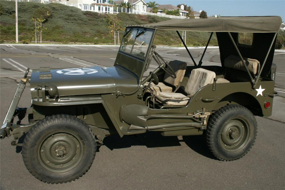 1944 FORD JEEP PREVIOUSLY OWNED BY FRANK SINATR - Side Profile - 22444