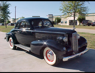 1937 LASALLE 50 COUPE -  - 22451