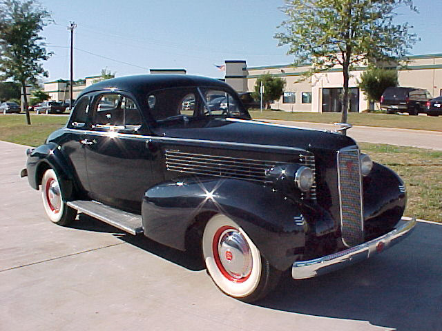 1937 LASALLE 50 COUPE - Front 3/4 - 22451