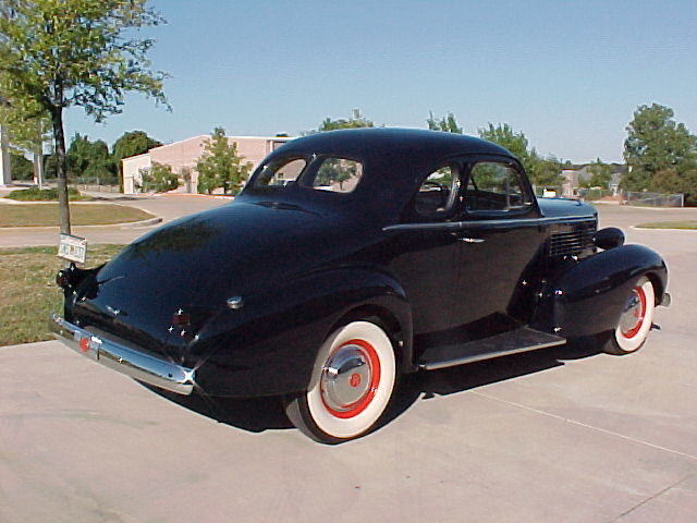 1937 LASALLE 50 COUPE - Rear 3/4 - 22451
