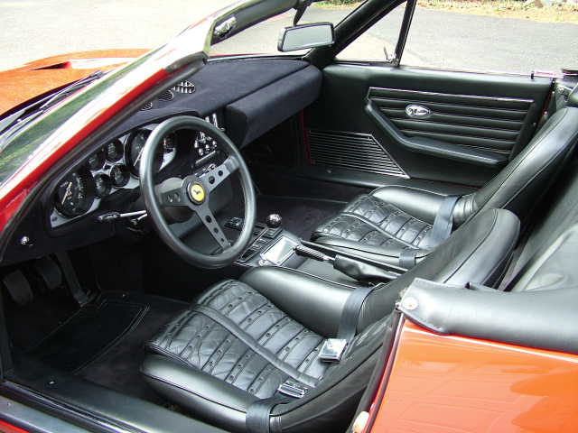 1971 FERRARI SPYDER CONVERSION - Interior - 22460