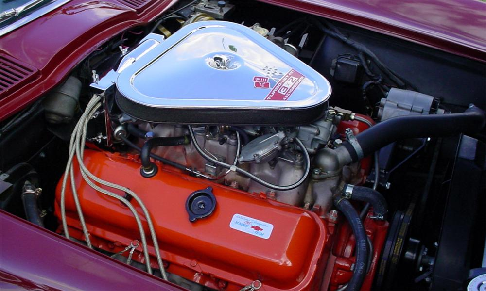 1967 CHEVROLET CORVETTE 427/435 CONVERTIBLE - Engine - 22463