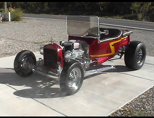 1926 FORD T-BUCKET ROADSTER -  - 22464