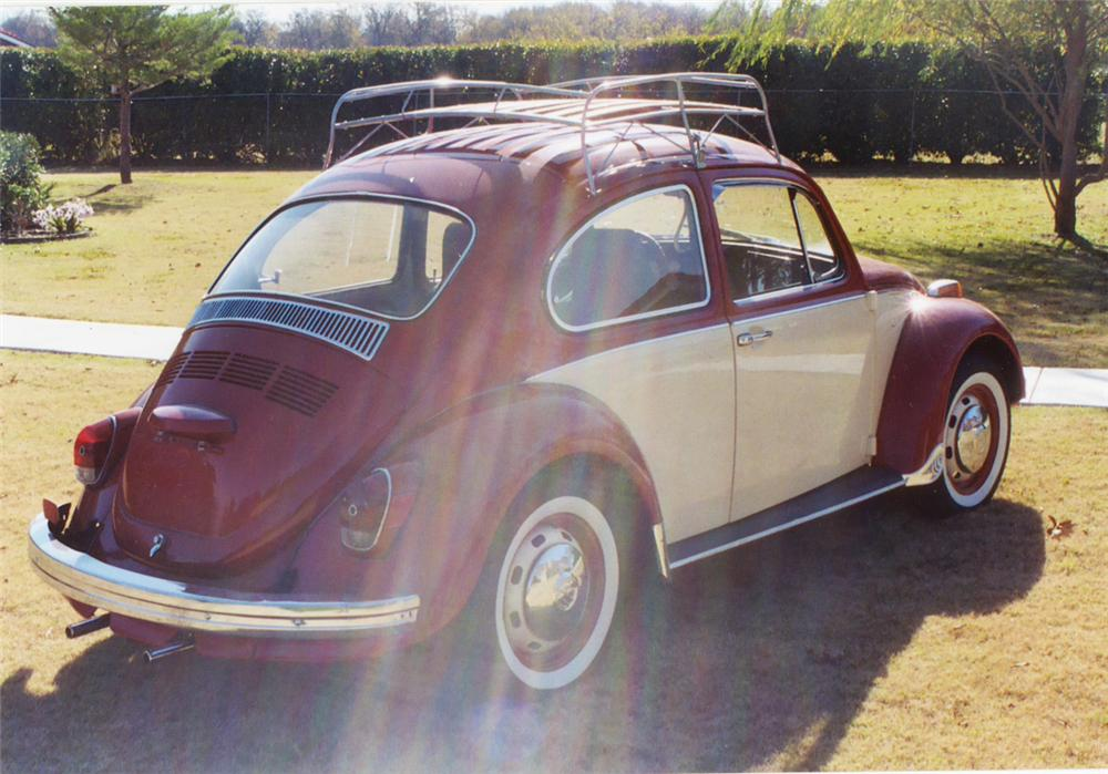 1970 VOLKSWAGEN BEETLE COUPE - Side Profile - 22467