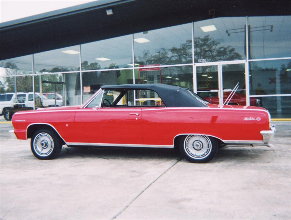 1964 CHEVROLET MALIBU SS CONVERTIBLE - Front 3/4 - 22468