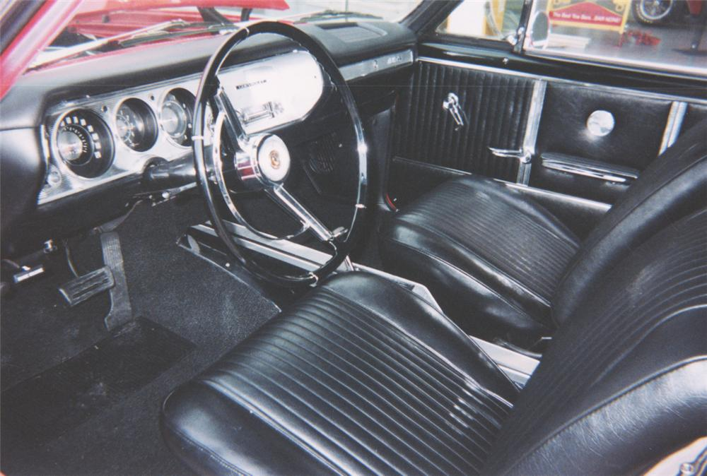 1964 CHEVROLET MALIBU SS CONVERTIBLE - Interior - 22468