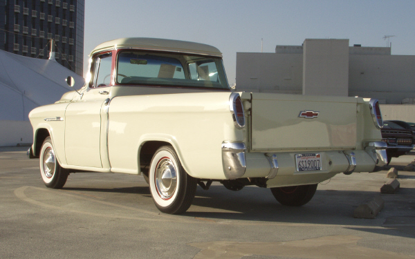 1955 CHEVROLET CAMEO CARRIER - Rear 3/4 - 22476