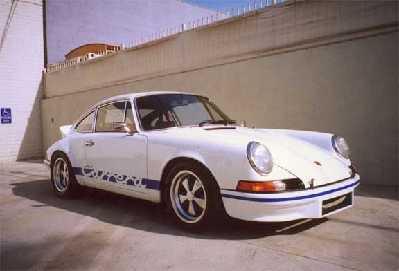 1973 PORSCHE CARRERA RS LIGHTWEIGHT - Front 3/4 - 22480