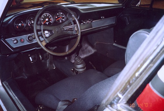 1973 PORSCHE CARRERA RS LIGHTWEIGHT - Interior - 22480