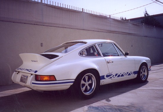 1973 PORSCHE CARRERA RS LIGHTWEIGHT - Rear 3/4 - 22480