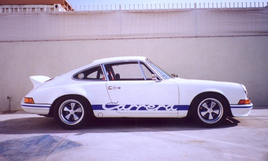 1973 PORSCHE CARRERA RS LIGHTWEIGHT - Side Profile - 22480