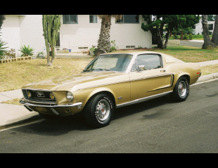 1968 FORD MUSTANG GT FASTBACK -  - 22516