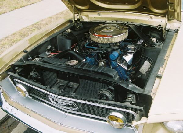 1968 FORD MUSTANG GT FASTBACK - Engine - 22516