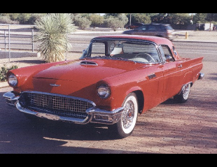 1957 FORD THUNDERBIRD CONVERTIBLE -  - 22567