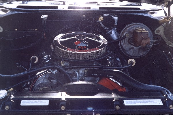 1970 CHEVROLET CHEVELLE LS6 CONVERTIBLE - Engine - 22569