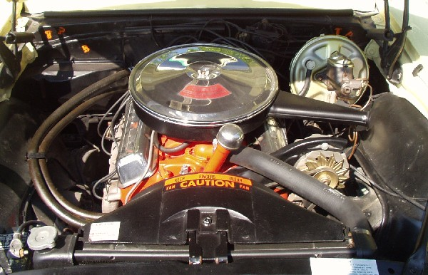 1967 CHEVROLET CAMARO RS/SS COUPE - Engine - 22587