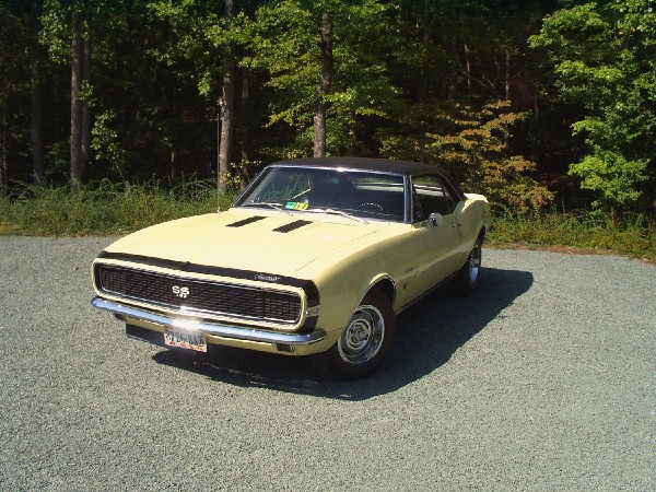 1967 CHEVROLET CAMARO RS/SS COUPE - Front 3/4 - 22587