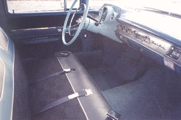 1957 CHEVROLET BEL AIR SEDAN - Interior - 22588