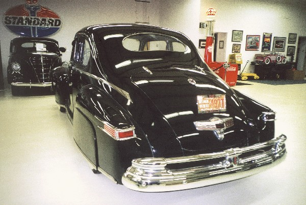 1947 LINCOLN 76 H CLUB COUPE - Rear 3/4 - 22591