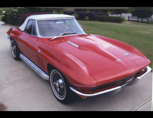 1966 CHEVROLET CORVETTE 427/425 CONVERTIBLE -  - 22598