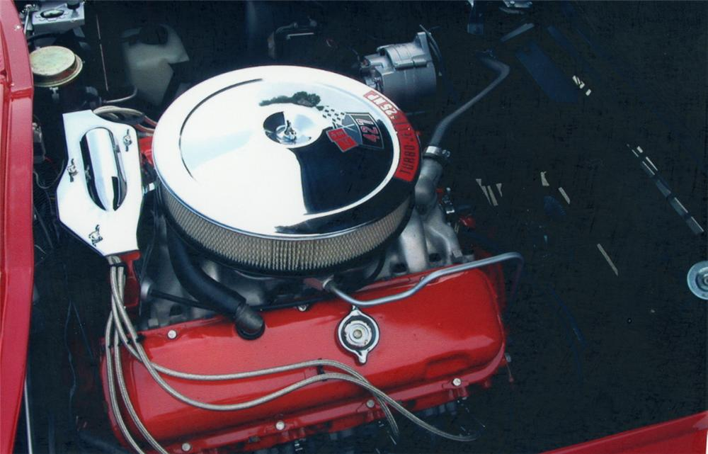 1966 CHEVROLET CORVETTE 427/425 CONVERTIBLE - Engine - 22598