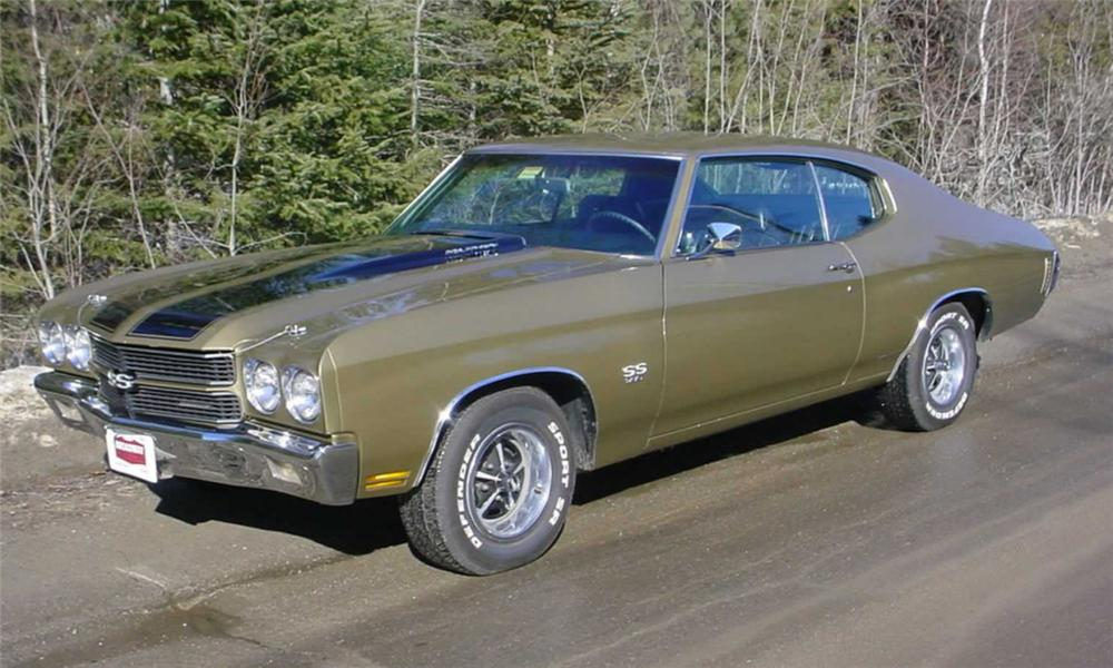 1970 CHEVROLET CHEVELLE SS 396 HARDTOP - Front 3/4 - 22613