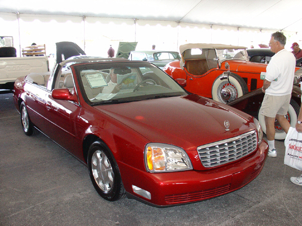 2001 cadillac de ville 4 door convertible 22618. Black Bedroom Furniture Sets. Home Design Ideas