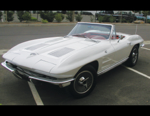 1963 CHEVROLET CORVETTE CONVERTIBLE -  - 22623