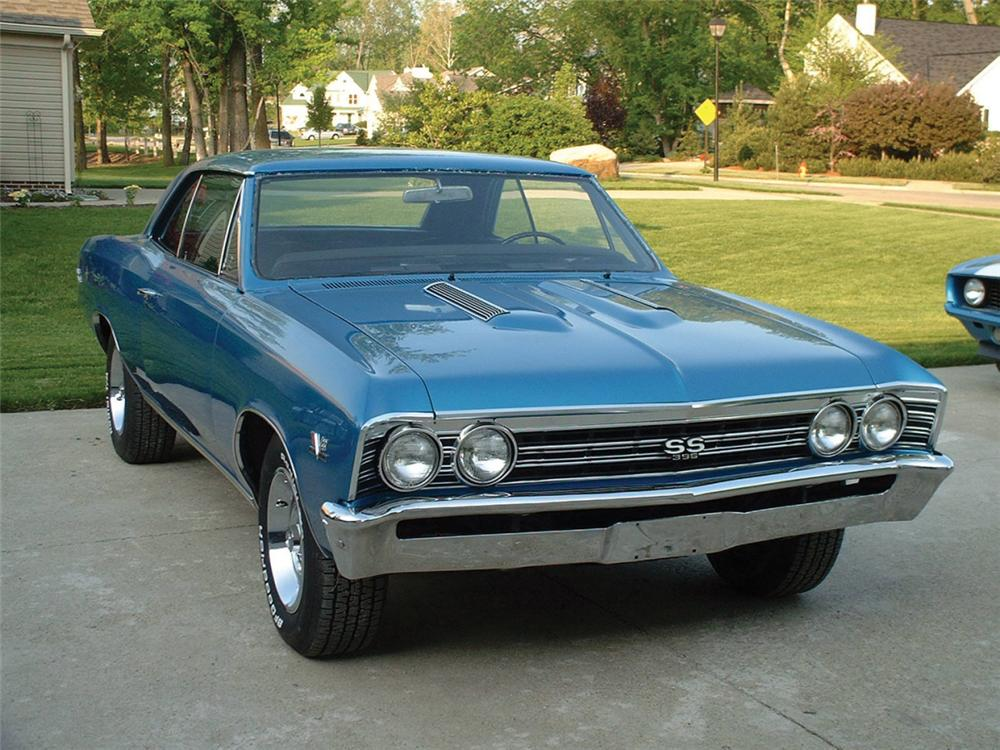 1967 chevrolet chevelle ss 396 coupe 22624. Black Bedroom Furniture Sets. Home Design Ideas