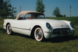 1954 CHEVROLET CORVETTE ROADSTER SOFTTOP -  - 22629