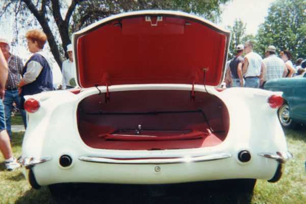 1954 CHEVROLET CORVETTE ROADSTER SOFTTOP - Side Profile - 22629