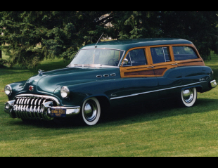 1950 BUICK WOODY SUPER STATION WAGON -  - 22630