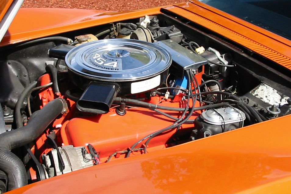 1972 CHEVROLET CORVETTE 454 COUPE - Engine - 22638