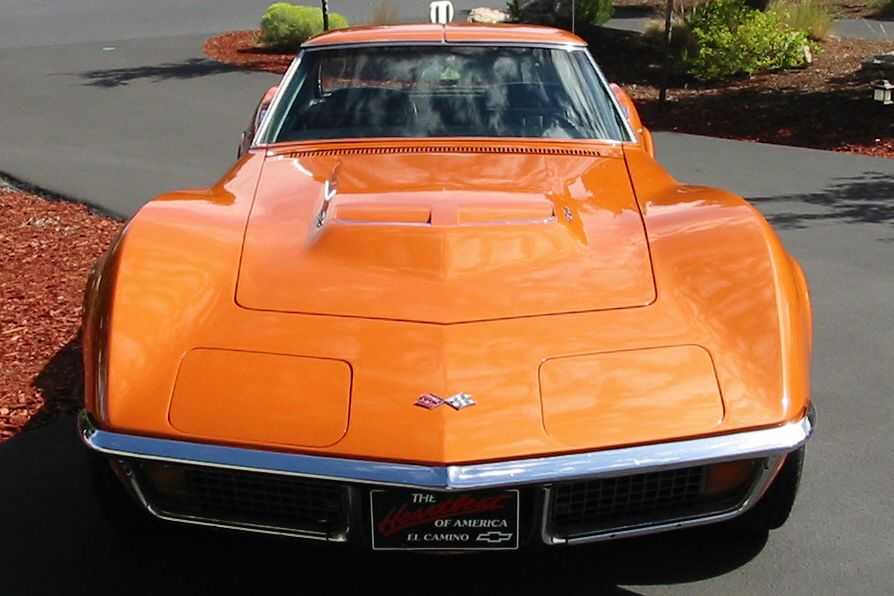 1972 CHEVROLET CORVETTE 454 COUPE - Side Profile - 22638