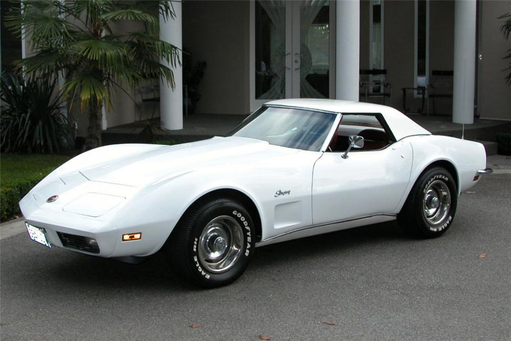 1973 CHEVROLET CORVETTE ROADSTER - Front 3/4 - 22641