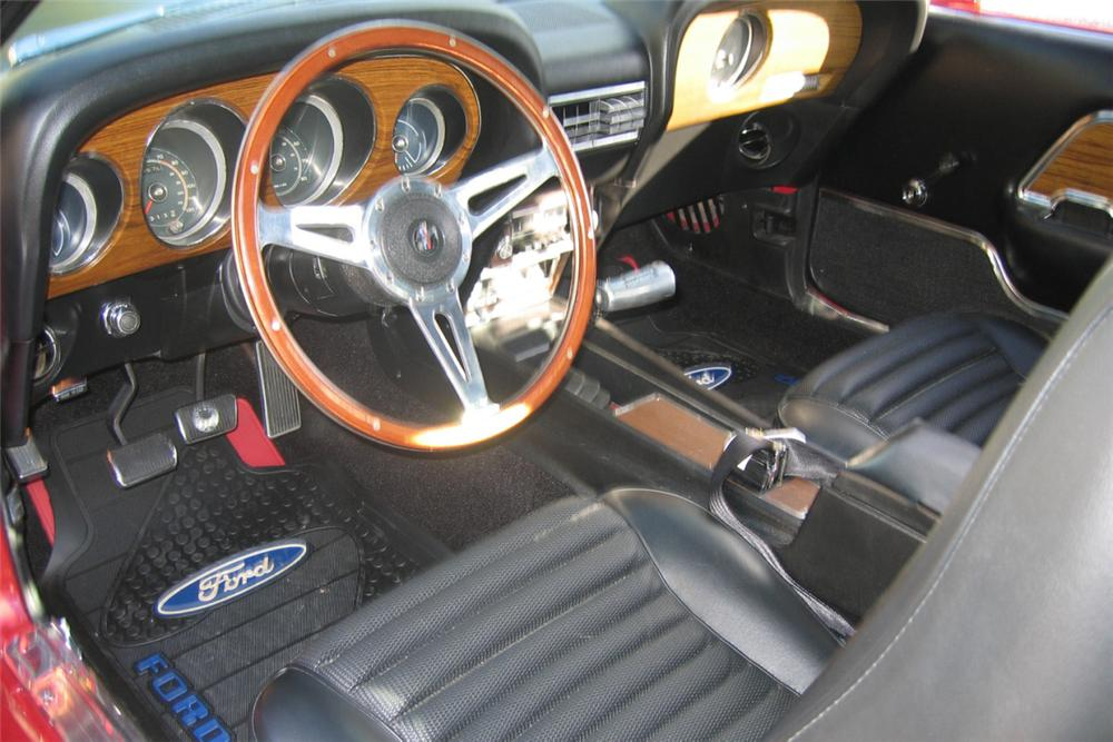 1969 FORD MUSTANG MACH 1 FASTBACK - Interior - 22646