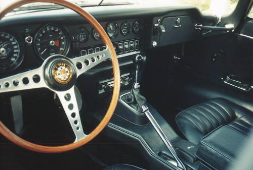 1970 JAGUAR XKE ROADSTER - Interior - 22651