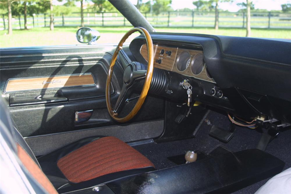 1970 DODGE CHALLENGER R/T SE 2 DOOR - Interior - 22660
