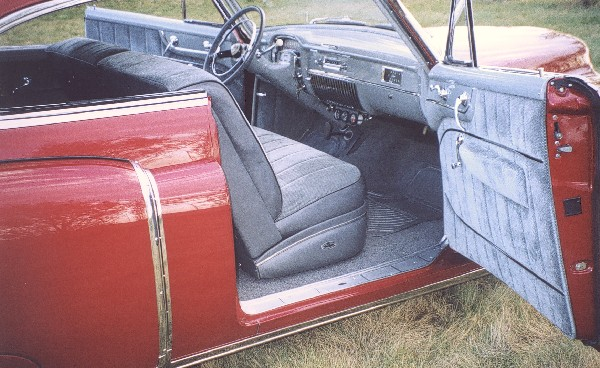 1951 CADILLAC SERIES 62 COUPE - Interior - 22779