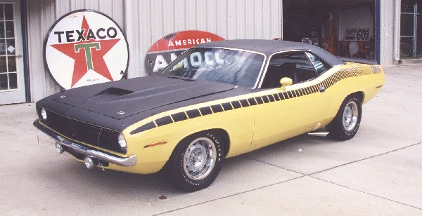 1970 PLYMOUTH CUDA AAR COUPE - Front 3/4 - 22782