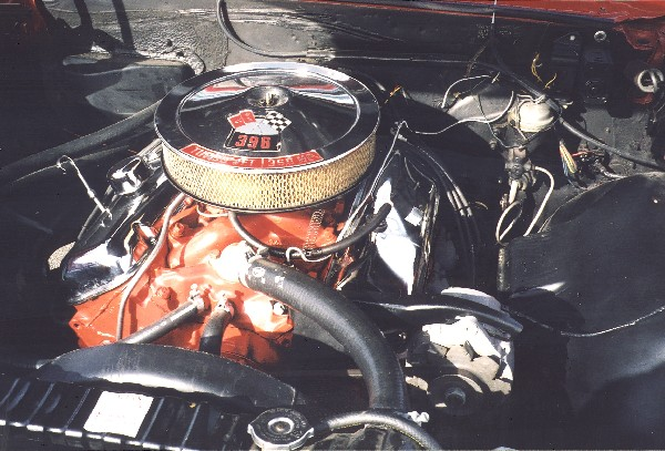 1966 CHEVROLET CHEVELLE SS 396 COUPE - Engine - 22783