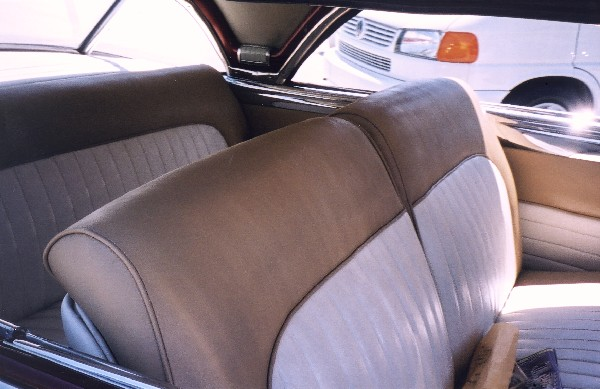 1950 OLDSMOBILE 88 HOLIDAY COUPE - Interior - 22801