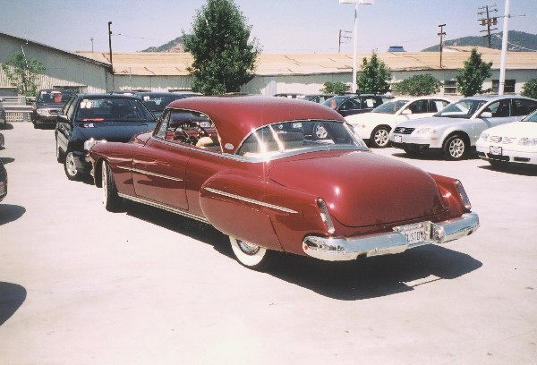1950 OLDSMOBILE 88 HOLIDAY COUPE - Rear 3/4 - 22801
