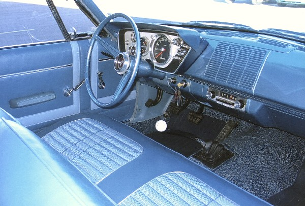 1963 PLYMOUTH BELVEDERE COUPE - Interior - 22803