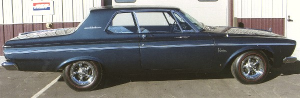 1963 PLYMOUTH BELVEDERE COUPE - Side Profile - 22803