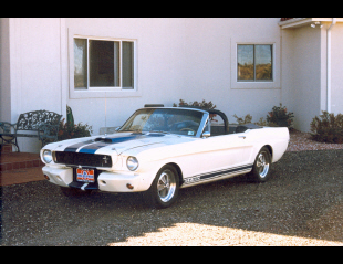 1965 FORD MUSTANG SHELBY GT350 CONVERTIBLE RE-CRE -  - 22808