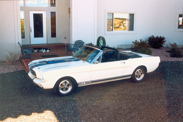 1965 FORD MUSTANG SHELBY GT350 CONVERTIBLE RE-CRE - Side Profile - 22808