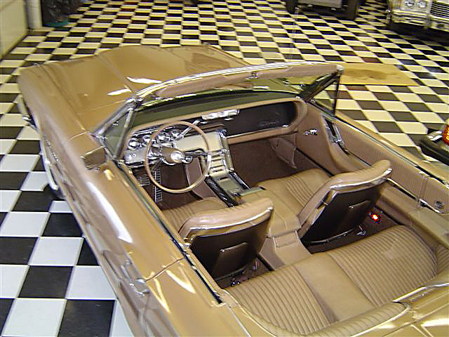 1964 FORD THUNDERBIRD CONVERTIBLE - Interior - 22812