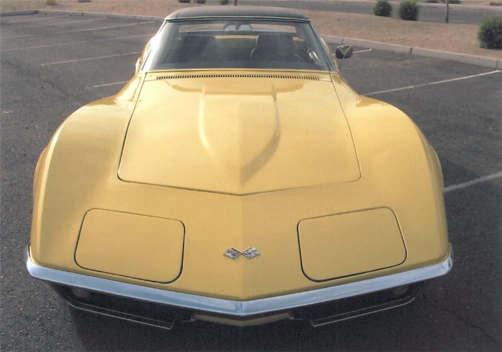 1969 CHEVROLET CORVETTE CONVERTIBLE - Side Profile - 22816
