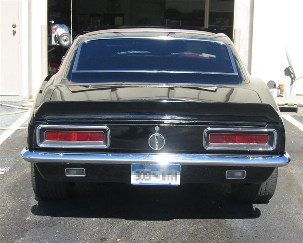 1967 CHEVROLET CAMARO RS COUPE - Rear 3/4 - 22817